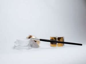 Pincel y gel de kit de uñas de gel